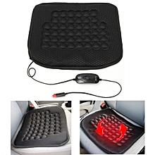 Auto Car SUV Heated Seat Cushion Pad Hot Cover Heater Warmer + 12V Controller