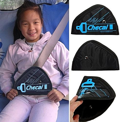 Car Safety Belt Adjuster For Children -Black