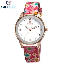 Couple Watches Fashion Men Women Watch Luxury Quartz Watch Water Proof Pu Leather Lovers Watch Men Women Casual Wristwatch