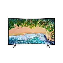 "UA65NU7300K - 65"" - UHD 4K Smart TV - Black - Curved"