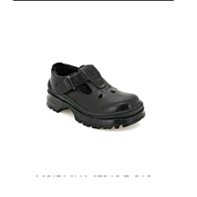 Back to School  Black Official Girls School Shoes