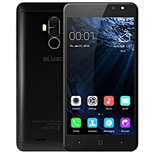 Bluboo D1 3G Smartphone 5.0 inch Android 7.0 MTK6580A Quad Core 1.3GHz 2GB RAM 16GB ROM Fingerprint Scanner Dual Rear Cameras - BLACK