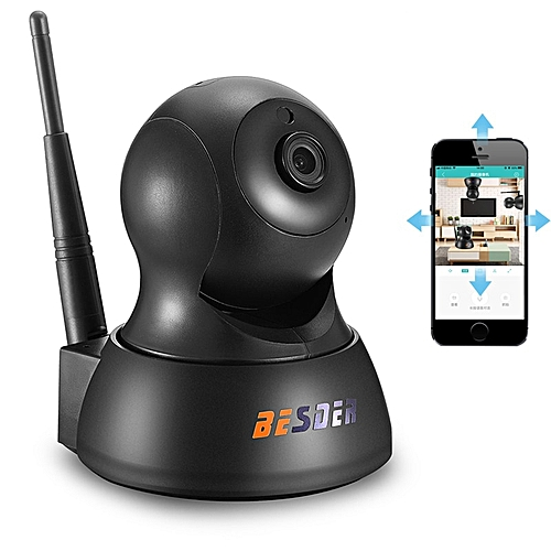 BESDER HD 720P IP Camera Wireless Wifi Wi-fi Video Surveillance Night  Security Camera CCTV Network Indoor Baby Monitor P2P iCSee(720P(No SD Card))