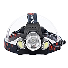 T6 COB LED Headlight Flashlight Torch Head Lamp 18650 Battery Waterproof