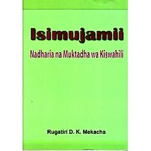 Isimu Jamii; Nadharia na Muktadha wa Kiswahili