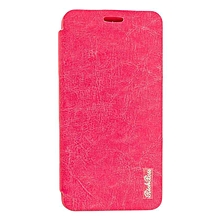 X551 - Leather Flip Cover - Pink
