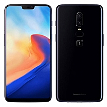 OnePlus 6 4G Phablet 6.28 inch Android 8.1 Octa Core 2.8GHz 6GB RAM 64GB ROM-MIRROR BLACK