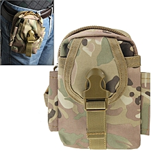 Multi-function High Density Strong Nylon Fabric Waist Bag / Camera Bag / Mobile Phone Bag, Size: 9 X 14.5 X 6cm (camouflage)