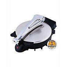 "Geepas GCM2028 - 10"" Chapati Maker - 800-930W – Stainless Steel"