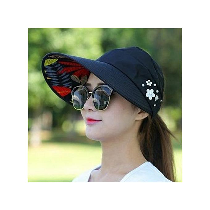 dab74b18 Fashion Women's Pearl Packable Sun Visor Hat @ Best Price | Jumia Kenya