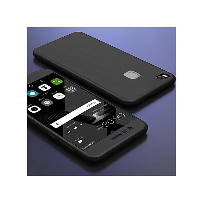... Huawei P9 Lite Case , Mooncase 360° Full Protection Matte PC Hard Hybrid Ultra Thin ...