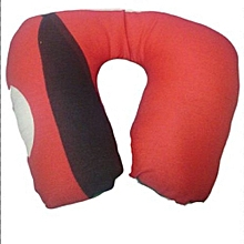 Travelling Neck Pillow - Adult-  Kenyan Flag