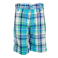 Teal Blue Shorts