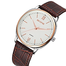 Casual Ultra-thin Men Watches Elegant Simple Quartz Watch 5ATM Water-resistant Male Wristwatch Relogio Musculino