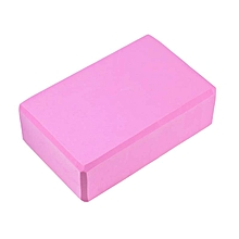 High-density Environmental Protection EVA Yoga Brick Tasteless Non-toxic Yoga Fitness Dance Aids - PINK
