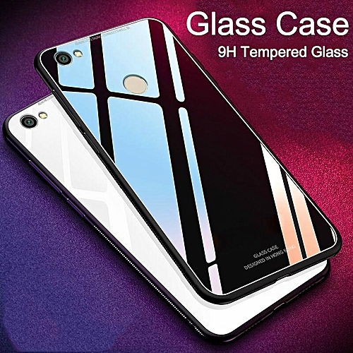 best website 6ef53 d4141 Glass Case For Redmi 4X Cover Full Protection Tempered Glass Back Cover  Casing For Xiaomi Redmi 4X Housing