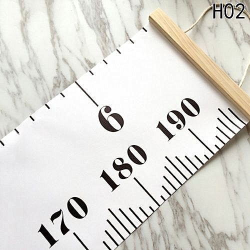 Buy Universal Baby Height Growth Chart Hanging Rulers Kids Room Wall