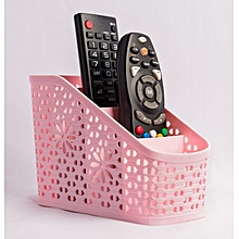 TV Remote Basket - Pink