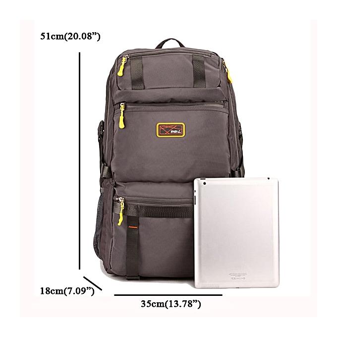 Fashion Casual Big Capacity Polyester Travel Backpack Multi Pocket Computer  Bag 1c4b769e68c6d