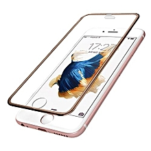 For Iphone 6 4.7IncH Premium Screen Protector Tempered Glass Protective Film -Gold