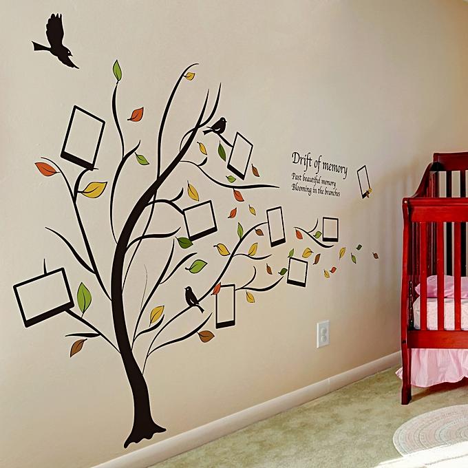 Buy Generic Honana Dx 131 90x60cm Creative Photo Frame Tree Wall