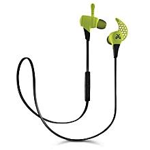 X2 Wireless Headphone Mini Sport Gaming Bluetooth EarphonesHeadphones Fire (Green)