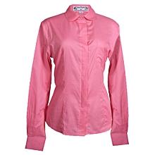 Cotton Shirt - Salmon
