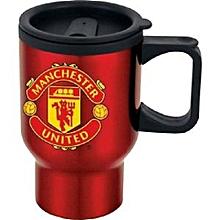 Silver Manchester Travel Mug