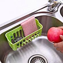 Removable Sink Sucker Storage Basket(green)