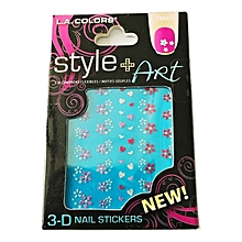 3D Nail Stickers - Assorted Glitter