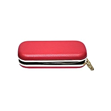 Box Clutch Bag Multi-Purpose Purse Wallet - Red
