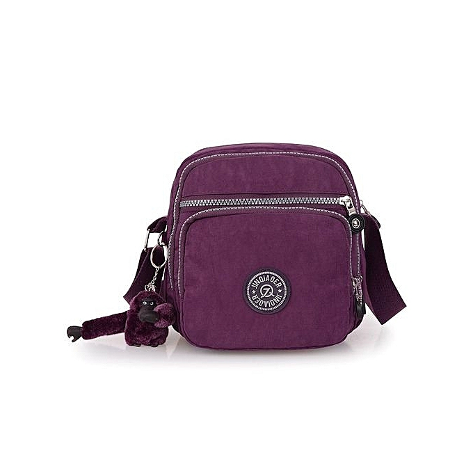 fb969226b6a6 Women s Waterproof Crossbody Shoulder Bags Multi-pockets Messenger Bags  (Purple)