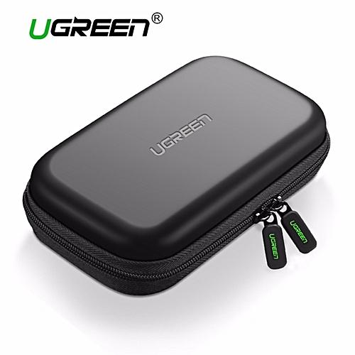 a93d7d42b79d External Hard Drive Case Bag, Travel Electornics Accessories Organizer Bag  For 2.5 Inch Hard Drives/Earphone/U Disk Hard Disk Drive LBQ