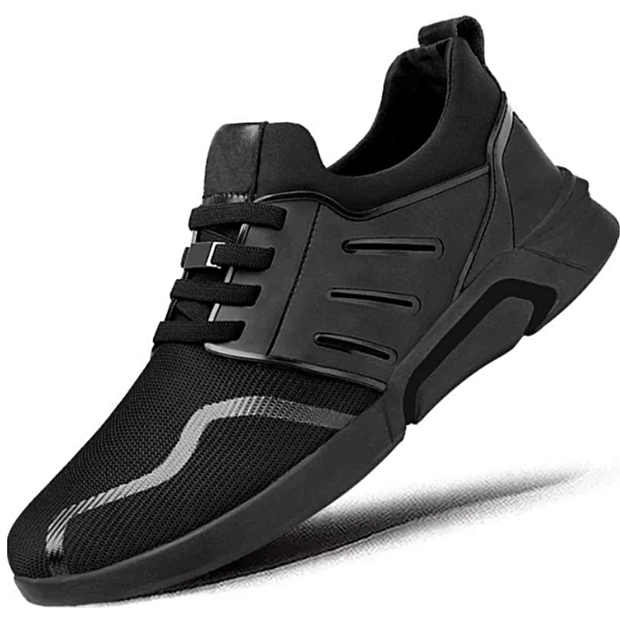 Generic Black Men S Casual Shoes Sneakers Flats Gym Trainers Best