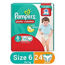 Pants Junior 24 Pcs, Size 6