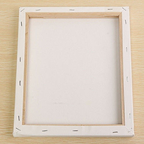 Buy UNIVERSAL White Blank Square Canvas Board Wooden Frame For Art ...