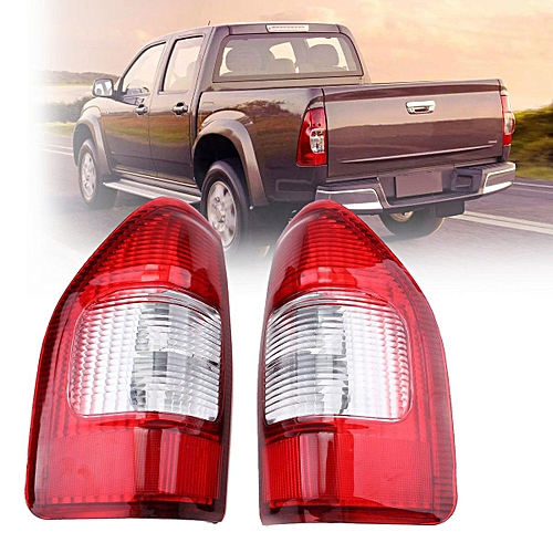 Pair Left + Right Tail Light Brake Lamps For Isuzu Rodeo DMax Denver Pickup  02-07