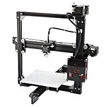 A2 Aluminum Metal 3D Three-dimensional DIY Printer US Plug - Black