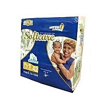 Baby Diapers Medium Gold - Count 42
