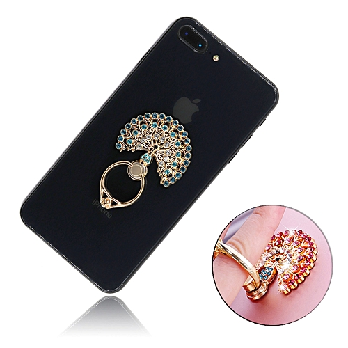 360 Degree Metal Finger Ring Mobile Phone Grip Stand Holder For iPhone 7 8  X Samsung f00cb75deb4
