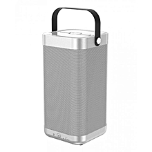 A9 Column Bluetooth Speaker - Silver