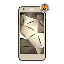 U962,8GB (Dual SIM), Gold with free back cover