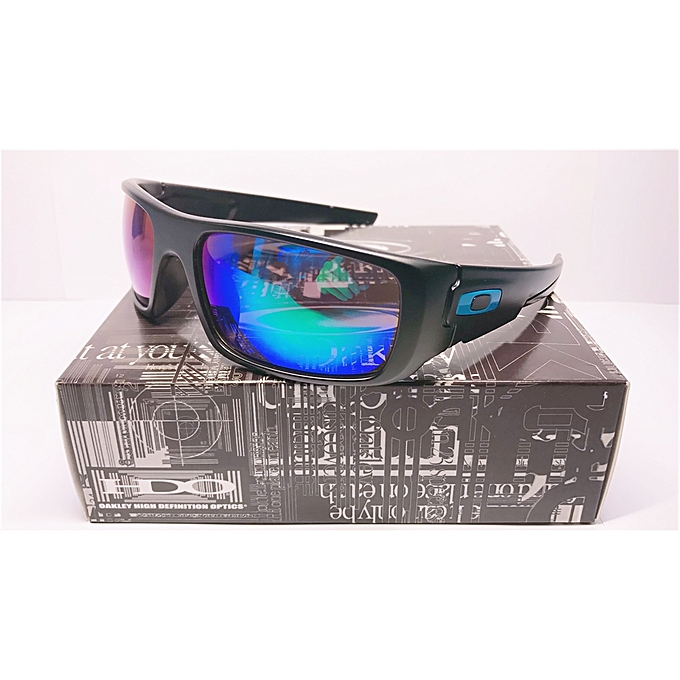 Matte Lens Iridium Mercury Sunglasses Blackblue Oakley Polarized gf76yb