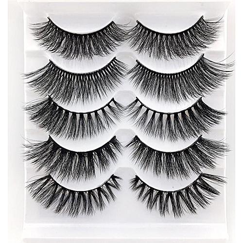 b98831397dd Generic NEW 1/3/5 pairs natural false eyelashes fake lashes long makeup 3d  mink lashes eyeextension mink eyelashes for beauty(3)