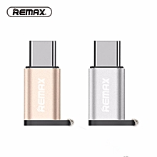 REMAX Type C OTG Adapter Micro USB Female to Type C USB C male OTG Adapter Converter for Android Apple Type C port Hua wei/macbook/xiao mi/Oneplus 5/3 DIOKKC