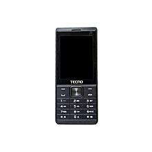 T528 - Dual SIM 8MB RAM 16MB HDD Phone - Black