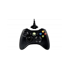 Xbox 360 Wired Gaming Pad For PC - Black