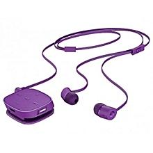 HP H5000 Bluetooth Earphones with Inbuilt Mic - Purple