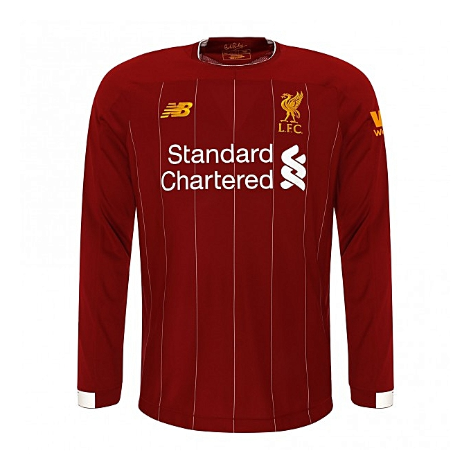 quality design 94406 4bd30 Liverpool FC Long-Sleeve Jersey 19/20 Home Kit