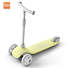 Mitu 3 Wheels Kick Scooter Multiple Security Protection Double Spring Gravity Steering System For Children 3 To 6 Years Old Balance Car Skateboard